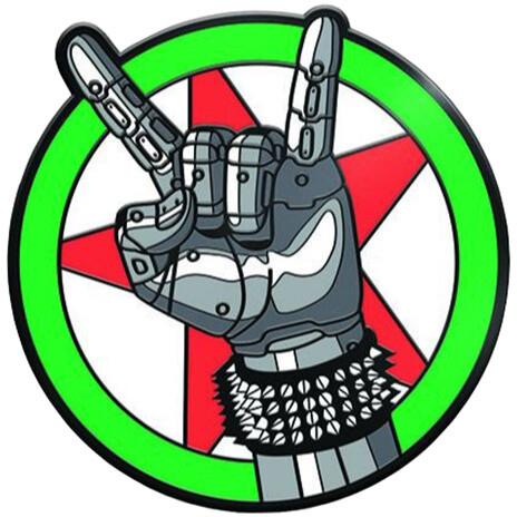 Magnet Cyberpunk - Silverhand Emblem