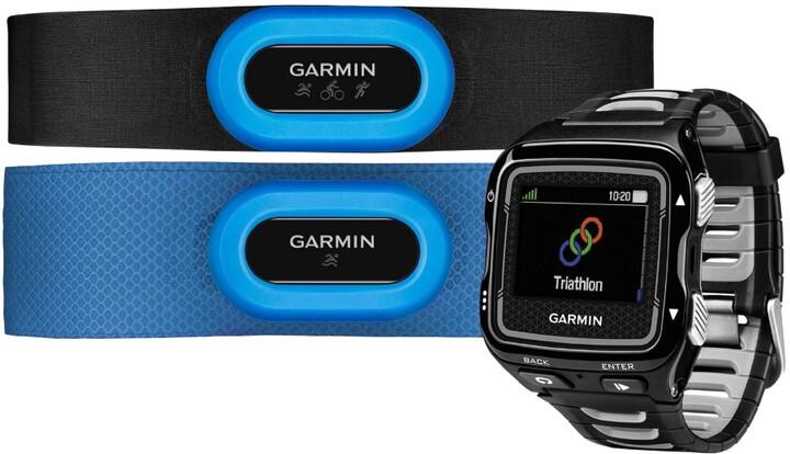 Garmin Forerunner 920 XT TRI Bundle, šedá/černá