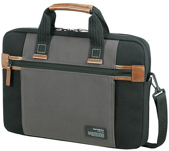 "Samsonite SIDEWAYS LAPTOP SLEEVE 15.6"" BLACK/GREY"