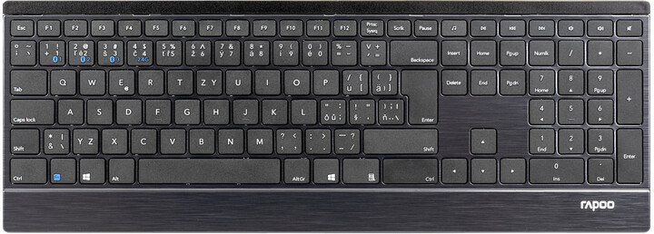 Rapoo E9500M Multi-mode, černá