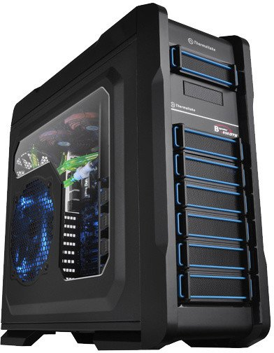 Thermaltake Chaser A71 LCS, okno