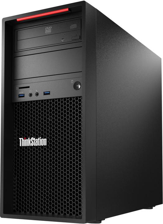 Lenovo ThinkStation P300 TWR, černá