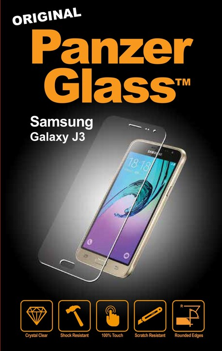 PanzerGlass Standard pro Samsung Galaxy J3 (2015), čiré