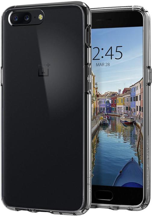 Spigen Ultra Hybrid pro OnePlus 5, crystal clear