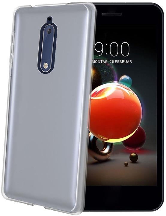 CELLY TPU pouzdro Gelskin pro Nokia 5.1/Nokia 5 (2018), bezbarvé
