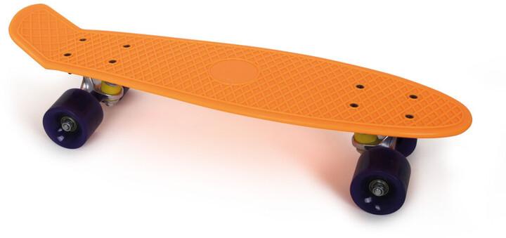 Skateboard Small Foot, oranžový