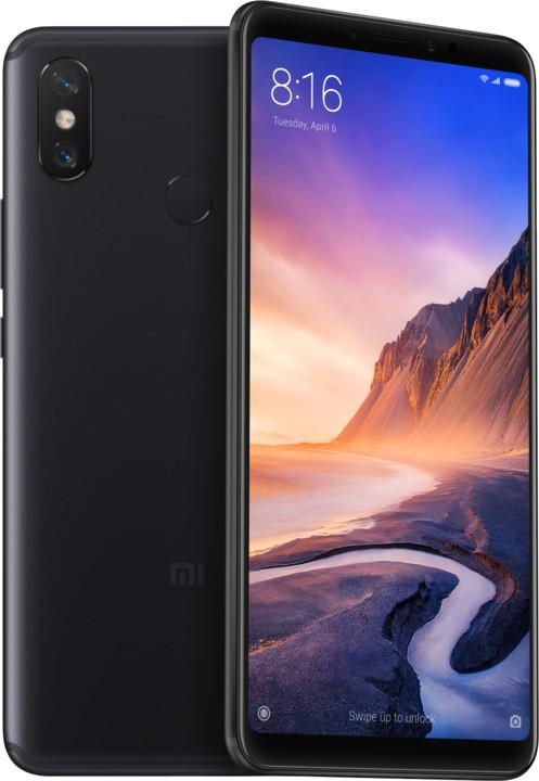 Xiaomi Mi Max 3, 4GB/64GB, černá