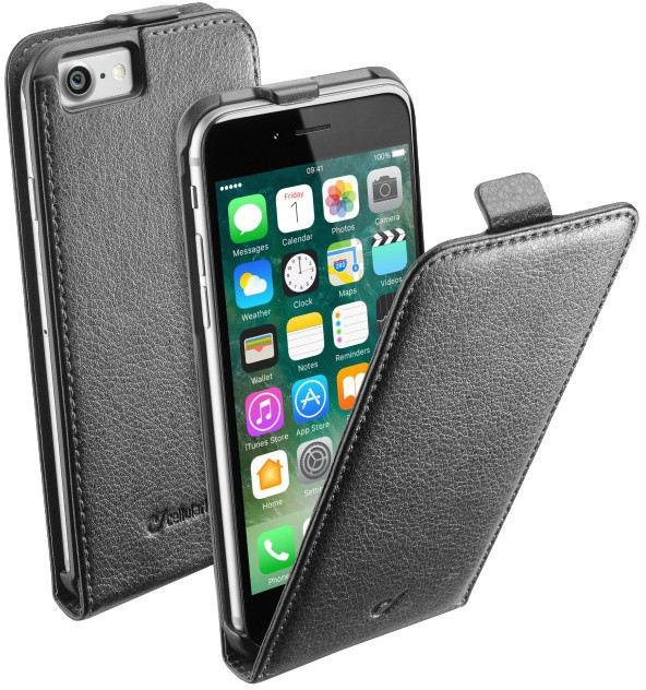 CellularLine Flap Essential pouzdro pro Apple iPhone 7, černá