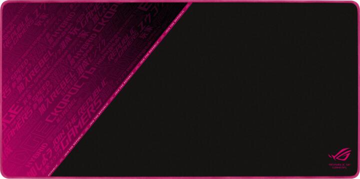 ASUS ROG Sheath Electro Punk, černá/růžová