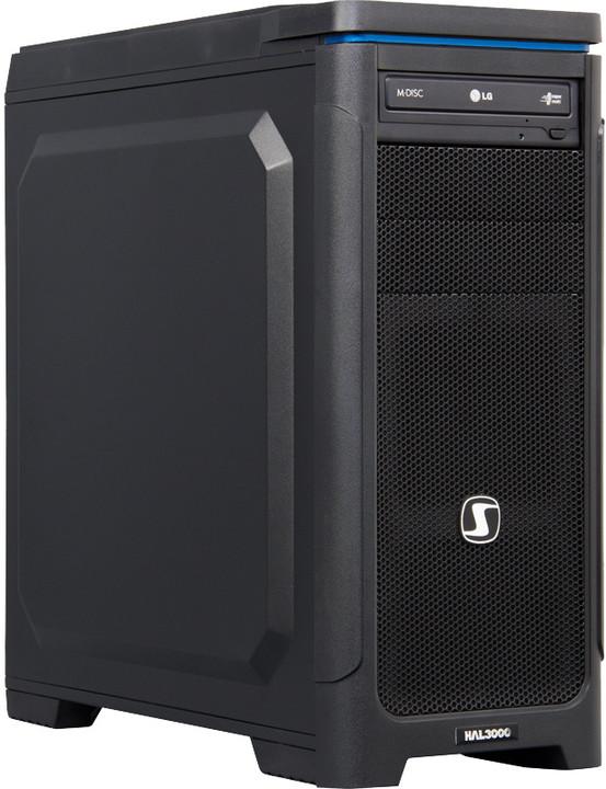 HAL3000 Artemis /i3-4170/8GB/1TB SSHD/NV GTX950 2GB/Bez OS