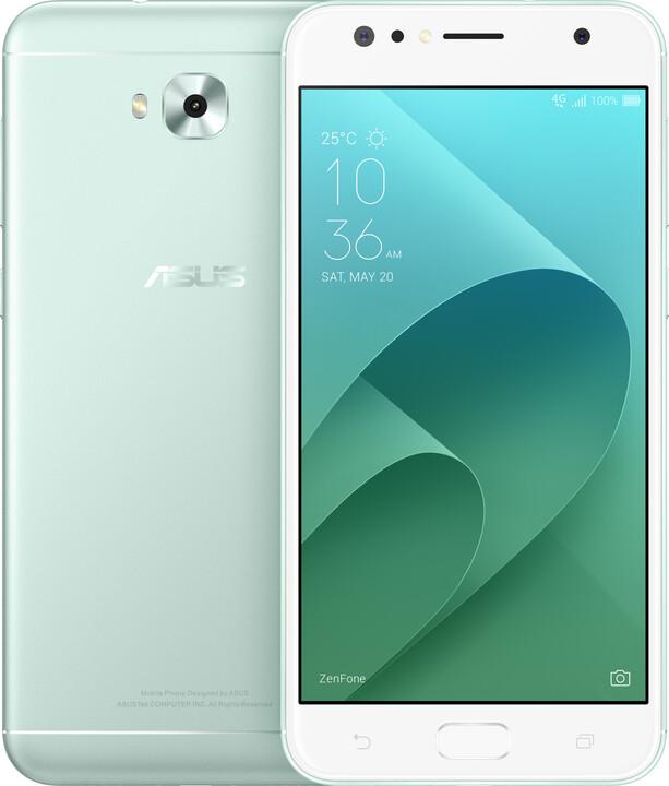 ASUS ZenFone 4 Selfie ZD553KL-5N059WW, zelená