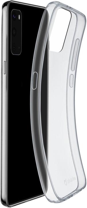 Cellularline extratenký zadní kryt Fine pro Samsung Galaxy S20, čirá