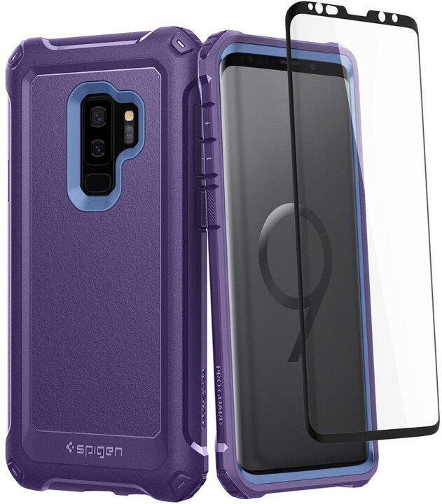 Spigen Pro Guard pro Samsung Galaxy S9+, deep purple