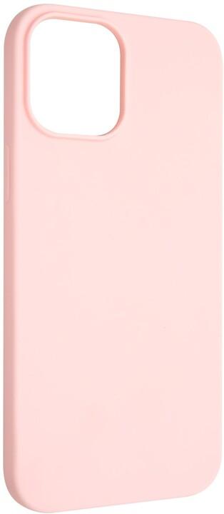 """FIXED pogumovaný kryt Story pro iPhone 12 Pro Max (6.7""""), růžová"""
