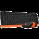 A4tech FG1010, černá/oranžová