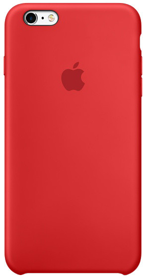 Apple iPhone 6s Silicone Case, červená