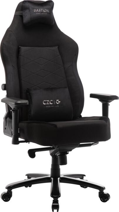 CZC.Gaming Bastion, herní židle, Dark Edition