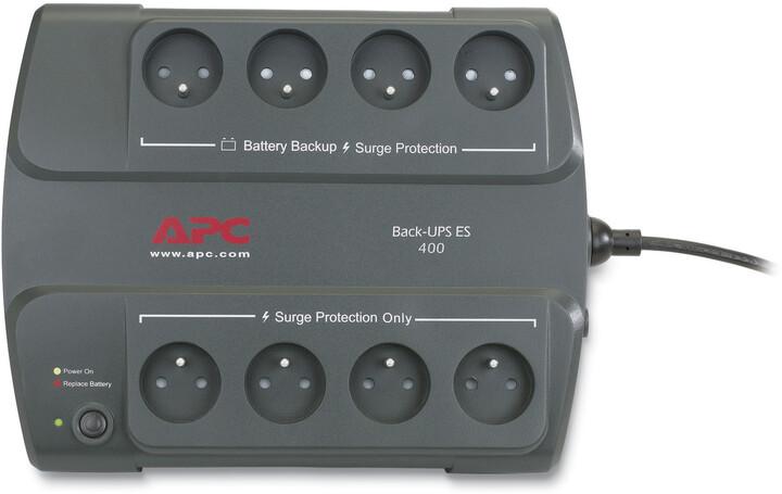 APC Back-UPS ES 400VA, bez SW