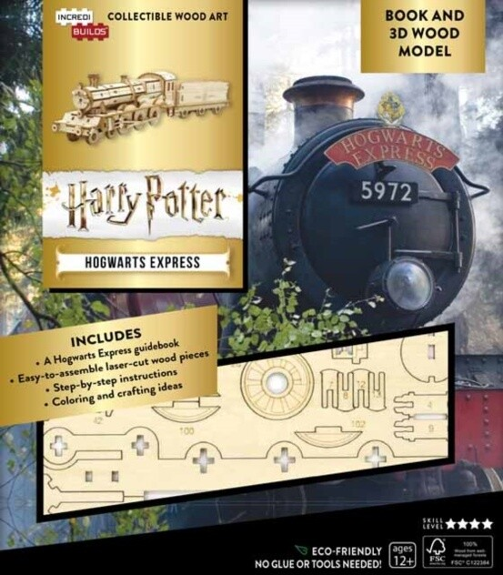 Stavebnice Harry Potter - Hogwarts Express (dřevěná)