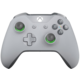 Xbox ONE S Bezdrátový ovladač, šedý/zelený (PC, Xbox ONE)