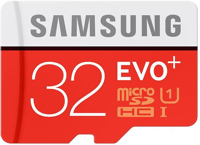 Samsung Micro SDHC EVO+ 32GB UHS-I + SD adaptér