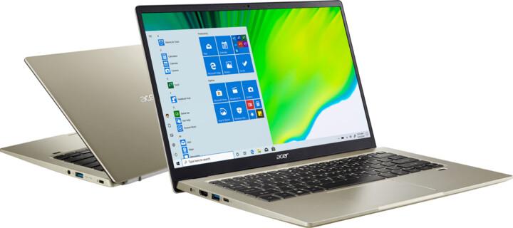Acer Swift 1 (SF114-33-P4LT), zlatá