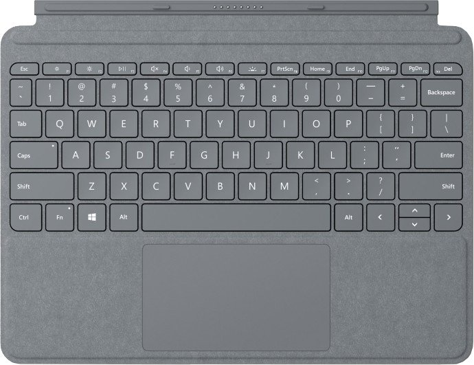 Microsoft Surface Go Type Cover (Platinum), ENG
