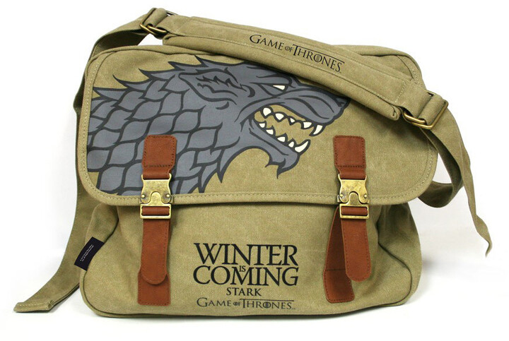Game of Thrones - Stark Logo Messenger Bag