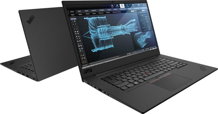 Lenovo ThinkPad P1, černá