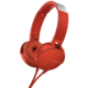 Sony MDR-XB550AP, červená