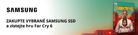 Získejte k vybraným SSD diskům Samsung Far Cry 6