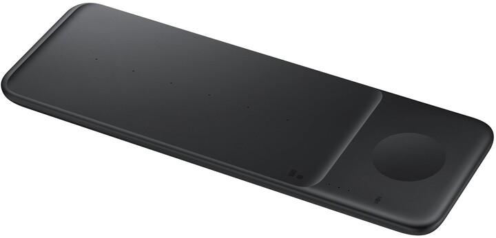 Samsung Trio bezdrátová nabíječka, černá