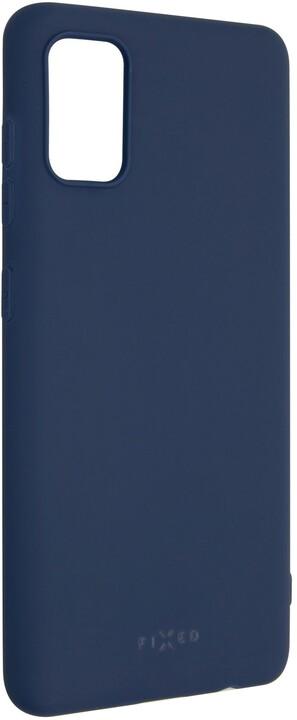 FIXED Story zadní pogumovaný kryt pro Samsung Galaxy A41, modrá