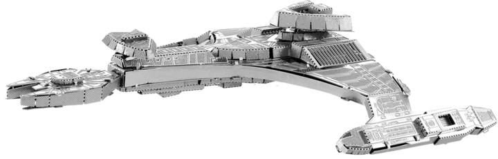 Metal Earth Star Trek - kovový model klingonský Vor'cha