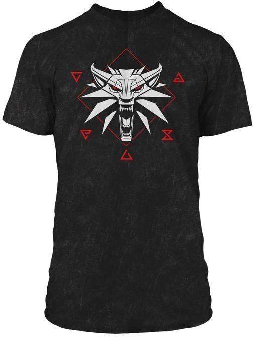 Tričko The Witcher: Wolf Signs (XL)