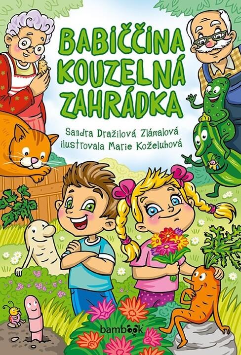 Kniha Babiččina kouzelná zahrádka