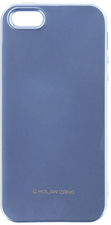 Molan Cano Jelly TPU Pouzdro pro Xiaomi Redmi 5 Plus, nebesky modrá