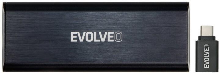 Evolveo Tiny N1, M.2 NVMe, USB 3.1