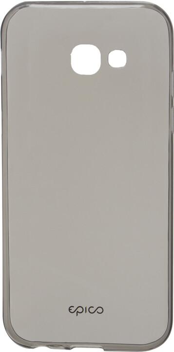 EPICO plastový kryt pro Samsung Galaxy A3 (2017) RONNY GLOSS - černý transparentní