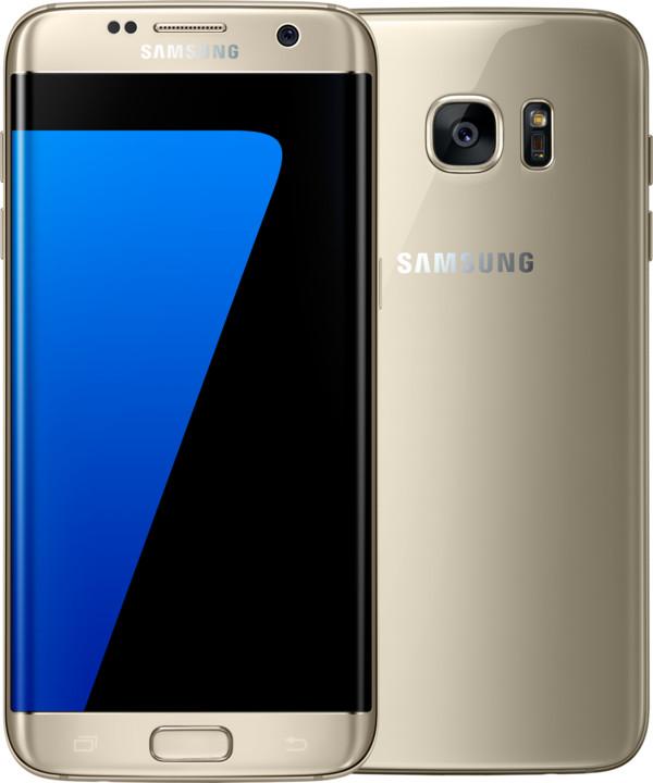 Samsung Galaxy S7 Edge - 32GB, zlatá