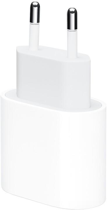 Apple napájecí adaptér USB-C, 20W, bílá