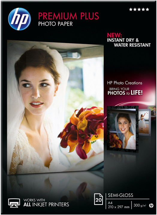 HP Foto papír Premium Plus Glossy-Semi Photo Paper