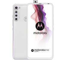 Motorola One Fusion+, 6GB/128GB, Moonlight White - MOTOONEFUSW