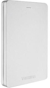 Toshiba Canvio Alu 3S - 2TB, stříbrná