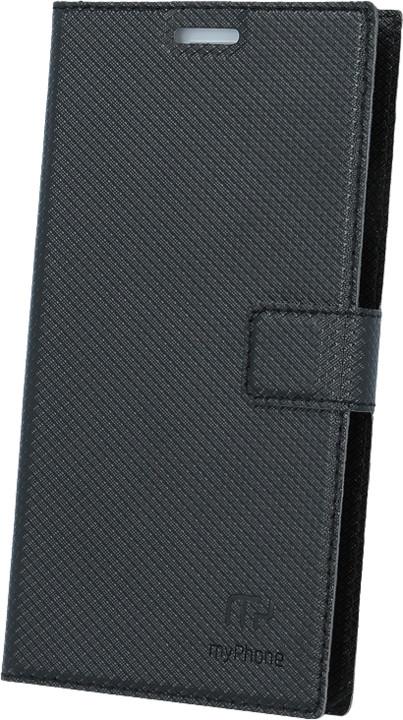 myPhone pouzdro s flipem pro PRIME 2, černá