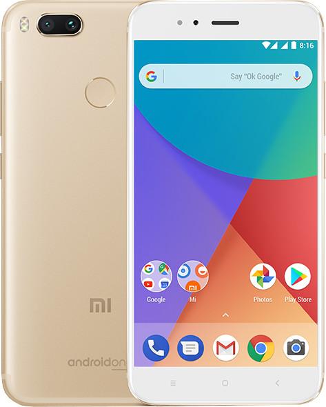 Xiaomi Mi A1 - 64GB, zlatá