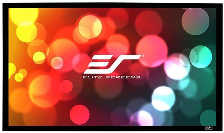 """Elite Screens plátno v pevném rámu CINEMA Scope 138"""" (350,5 cm)/ 2,35:1 / 137,2 x 322,3 cm"""