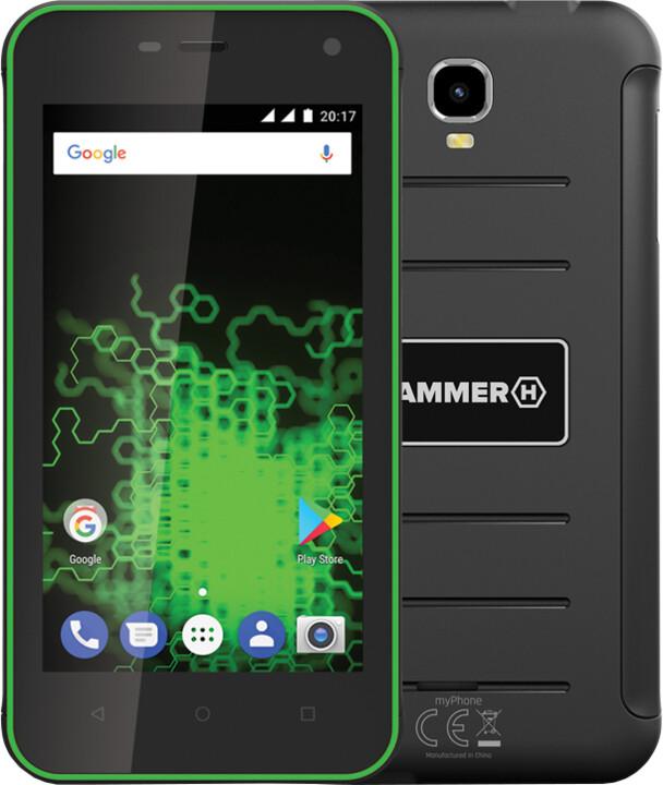 myPhone HAMMER ACTIVE, zelená