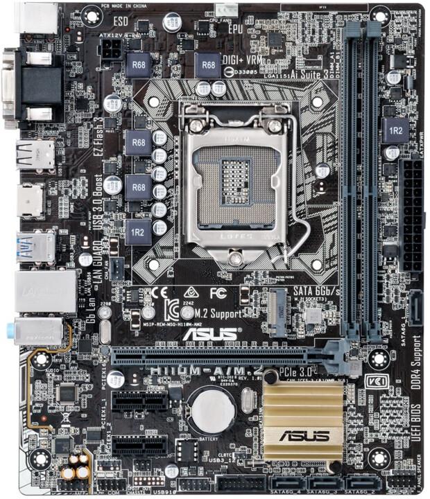 ASUS H110M-A/M.2/CSM - Intel H110, pro firmy