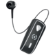 CELLY SNAIL, bluetooth headset s klipem a navijákem kabelu, černá